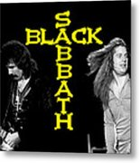 Black Sabbath 1978 Metal Print