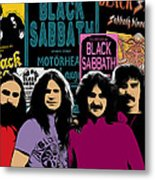 Black Sabbath Metal Print