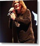 Black Sabbath - Ozzy Osbourne Metal Print