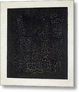 Black Square Metal Print by Kazimir Malevich