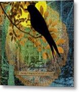 Blackbird Metal Print