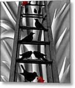 Blackbird Ladder Metal Print