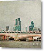 Blackfriars Bridge Metal Print