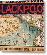 Blackpool Metal Print