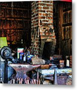 Blacksmith - All The Tools Metal Print