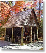 Blacksmith Shop In The Fall Metal Print