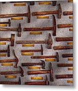 Blacksmith - Tools - Pounding Headache  Metal Print