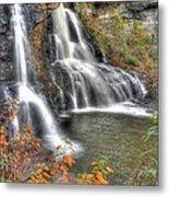Blackwater Falls-2a Blackwater Falls State Park Wv Autumn Mid-morning Metal Print