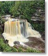 Blackwater River Falls West Virginia Metal Print