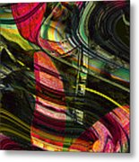Blades In The Layered Worlds Metal Print