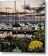 Blaine Harbor Metal Print by Blanca Braun