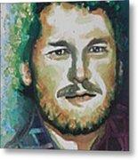 Blake Shelton  Country Singer Metal Print
