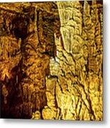 Blanchard Springs Caverns-arkansas Series 05 Metal Print