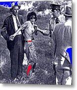 Blanche Barrow Captured July 24 1933 Dexfield Park Missouri  Metal Print