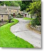 Blanchland Cottages Metal Print