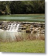 Blanco River Weir Metal Print