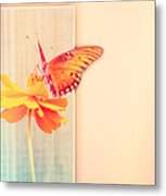 Blank Greeting Card Metal Print