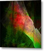 Bleeding Green Metal Print