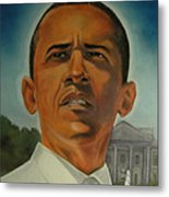 Bless Mr.obama Metal Print