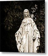 Blessed Virgin Mary Metal Print by Olivier Le Queinec