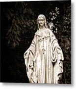 Blessed Virgin Mary Metal Print