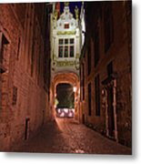 Blind Donkey Alley Metal Print