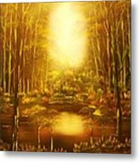 Blinding Light-original Sold-buy Giclee Print Nr 36 Of Limited Edition Of 40 Prints   Metal Print