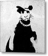Bling Rat  Metal Print