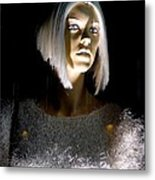 Blonde Highlights Metal Print
