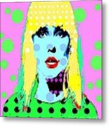Blondie Metal Print by Ricky Sencion