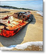 Blood And Guts I - Outer Banks Metal Print by Dan Carmichael
