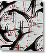 Blood Sweat And Tears  Metal Print by Kiara Reynolds