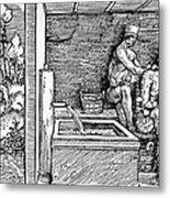 Bloodletting, C1500 Metal Print
