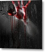 Bloody Hand Metal Print by Jt PhotoDesign