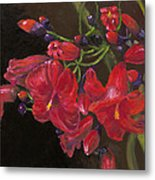 Bloomin' Red Metal Print