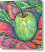 Blooming Apple Metal Print