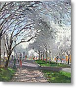 Blooming In Niagara Park Metal Print