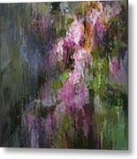 Blooming Spring In Central Park Metal Print