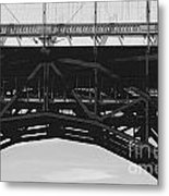 Bloor Street Viaduct Metal Print