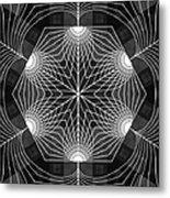 Blossom Cube Metal Print