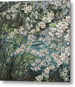 Blossoming River Metal Print