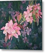Blossoms For Sally Metal Print
