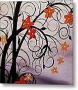 Blossoms Of The Orient Metal Print