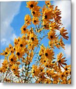 Blowin In The Wind Metal Print