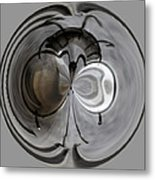 Blown Out Filament Metal Print