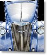 Blue 1937 Chevy Too Metal Print
