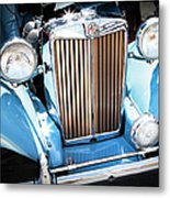 Blue 1953 Mg Metal Print