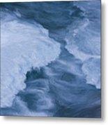 Blue 3                              Metal Print by Jack Zulli