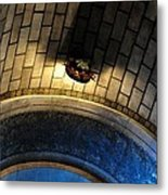Blue And Gold In The Apse Metal Print