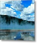 Blue And More Blue Metal Print